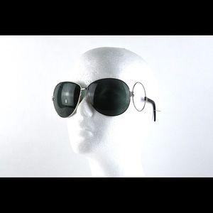 Unique Vintage Dolce Gabbana Silver Sunglasses